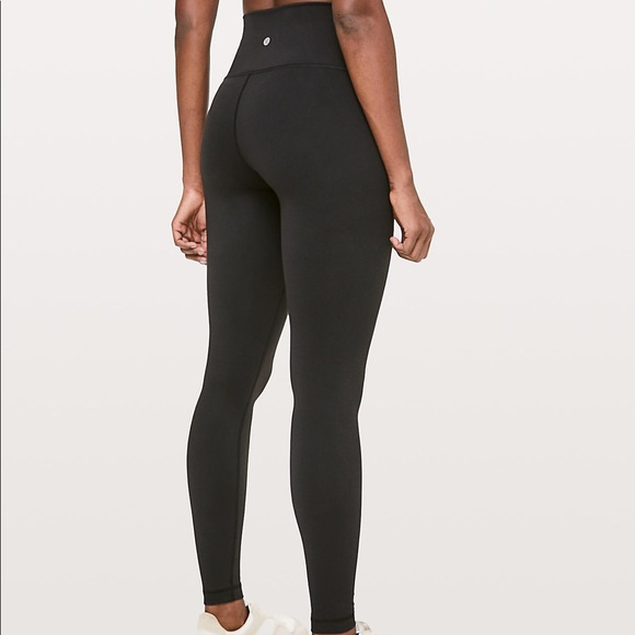 c3256bc44 Lululemon high rise all black leggings